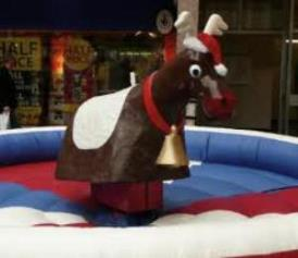 Rodeo Reindeer (£250 for 2 hours)
