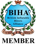 Members of the British Inflatable Hirers Association
